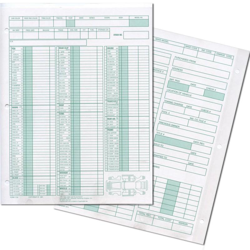 Car Part Com Used Auto Parts >> Manual Inventory Form-Detail Auto
