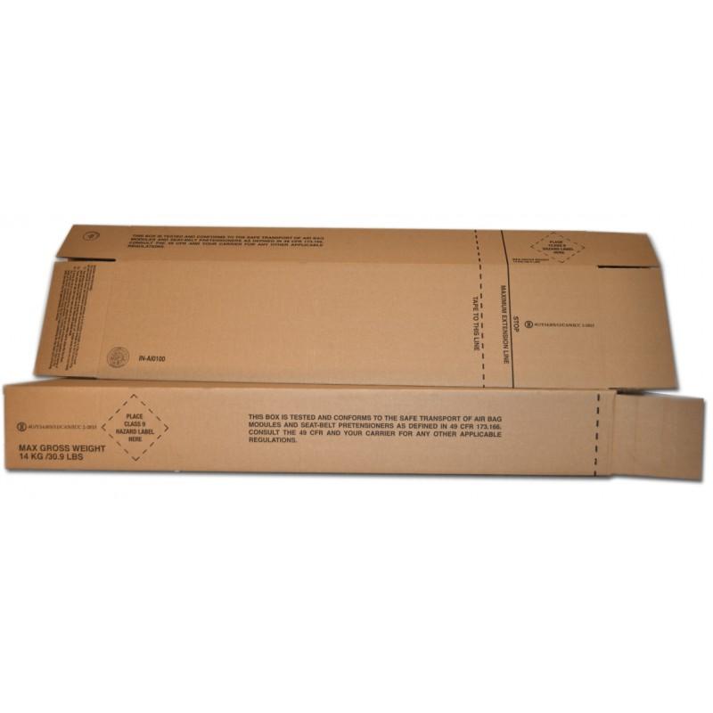 Air Bag Module And Side Curtain Air Bag Hazmat Shipping Boxes