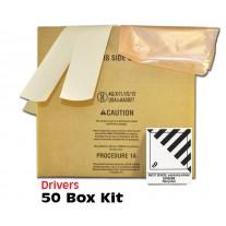 "Airbag Module Shipping Box Drivers 16"" x 10"" x 8"" Bulk Pack - 50 Boxes"