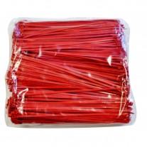 """Plastic Zip Ties - 8.9"""" Red, 40 lb. Tensile Break Strength"""