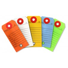 COLORED KEY TAGS
