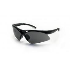 Safety Glasses - DIAMONDBACKS - Black Frame & Smoke Lens