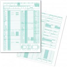 Manual Inventory Forms - Van & Pickup Form