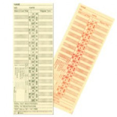 Employee Time Cards - 2 Sided