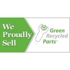Green Recycled Parts Banner