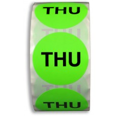 """THU"" 2"" Adhesive Label"