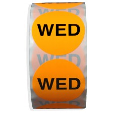 """WED"" 2"" Adhesive Label"
