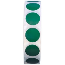"¾"" Green Adhesive Label"