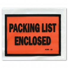 Packing Envelopes - Packing List Enclosed