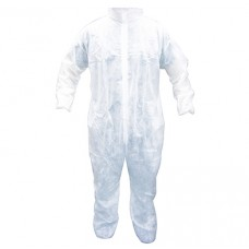 Coveralls- Disposable Polypropylene Full Zipper Front