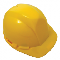 Hard Hat with 6-point ratchet- YELLOW