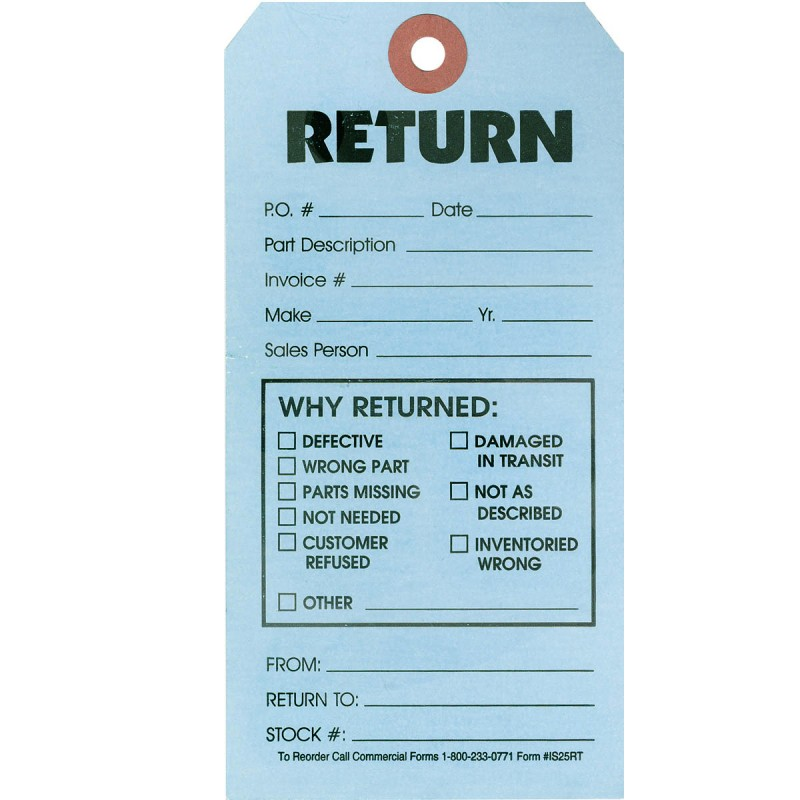 Return Tags