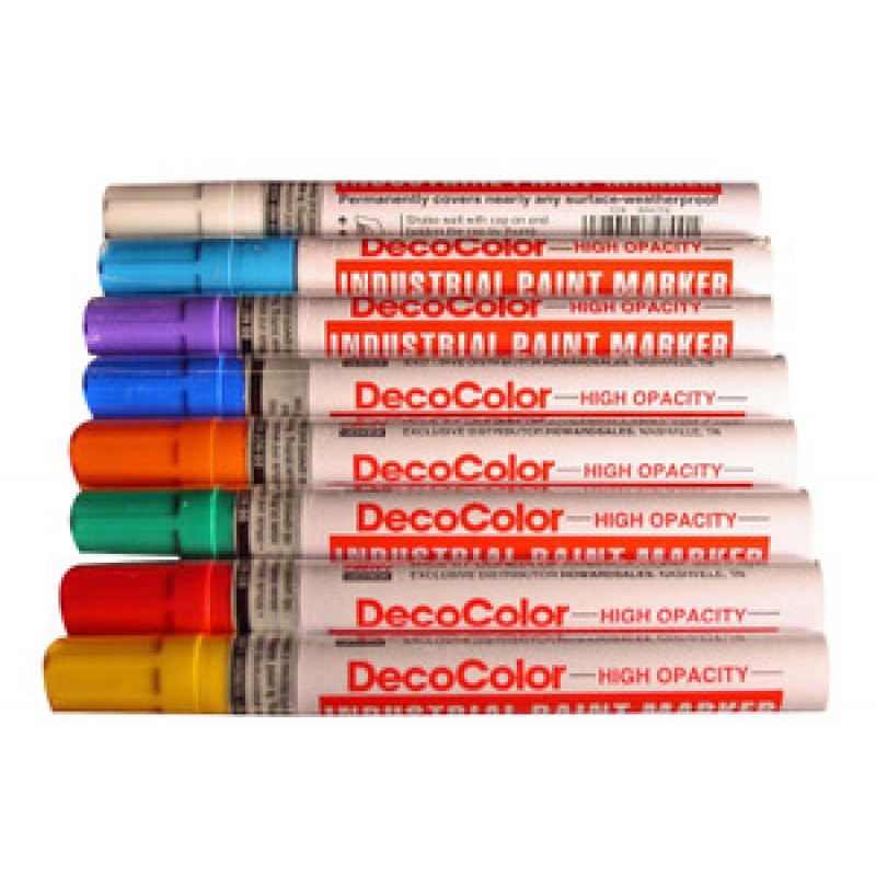 decocolor industrial paint marker cf recycler supply