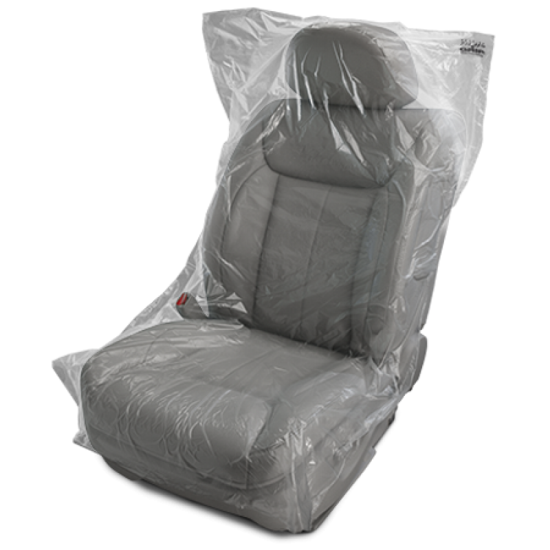 Slip N GripR Plastic Covers For Vehicle Seat Protection