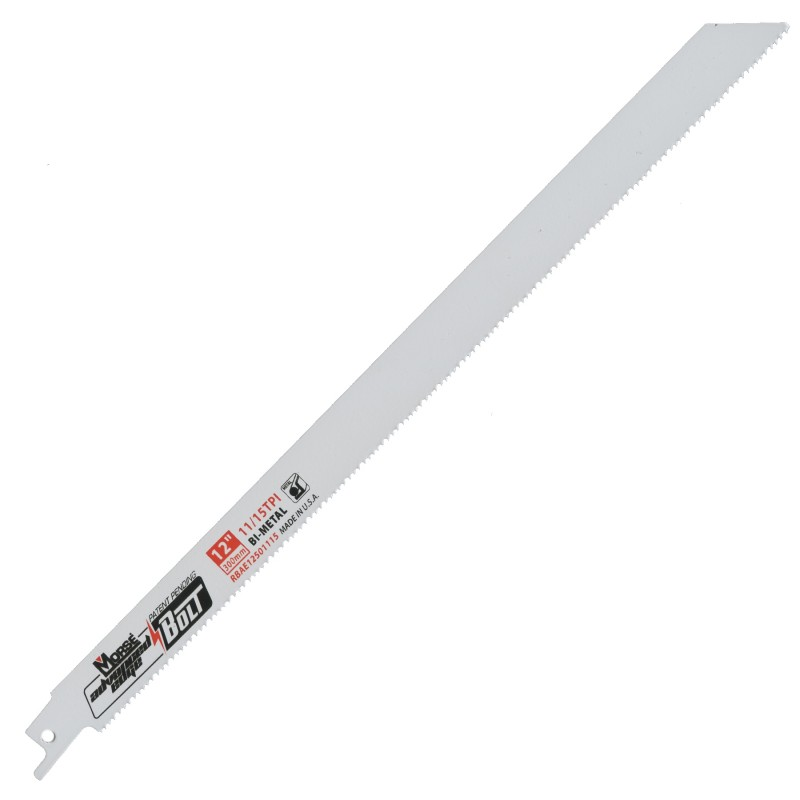 "Morse Advanced Edge Bolt Saw Blade 12"" 11/15 TPI-CF Recycler Supply"
