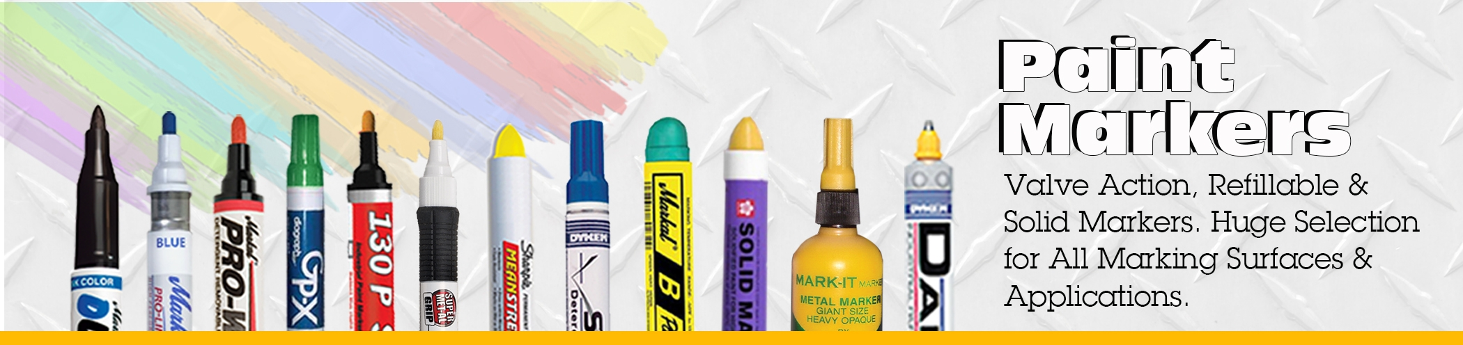 Industrial Paint Markers