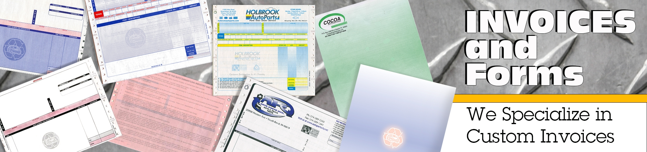 Invoices & Forms