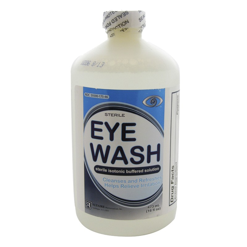 Safety Emergency Eye Wash Solution Refill