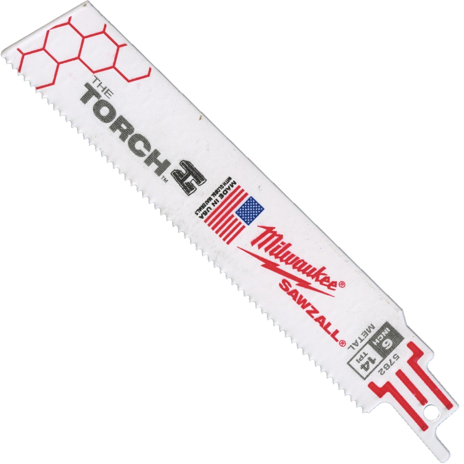 6 X 1 X 042 14tpi Milwaukee Torch Sawzall Blade