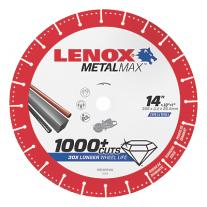 "LENOX METALMAX™ 14"" x .050 1"" Arbor, Cut-Off Wheel-Gas Saw"