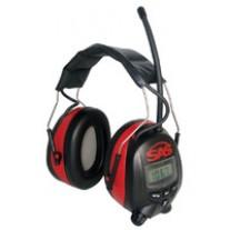 Earmuff Hearing Protection - Digital AM/FM MP3