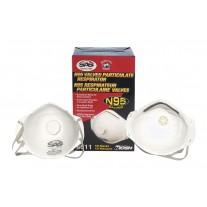 Dust Mask N95 Valved Respirator Face Mask
