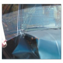 "Collision Wrap - Wrap for Crashed Vehicles - Autowrap Clear 36"" x 100' - Premium High Tack Adhesive"