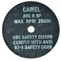 "CGW Camel High Speed Reinforced Cut-Off Wheel 3""x 1/32"" x 3/8"""