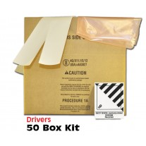 "Airbag Module Shipping Box Drivers 16"" x 10"" x 8"" Bulk Pack - 50 Boxes"
