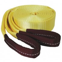 "Tow Strap Looped Ends 2"" x 20' - 15,000 lb Capacity"