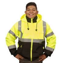 Cordova Reptyle™ 2-in-1 Bomber Jacket - Lime