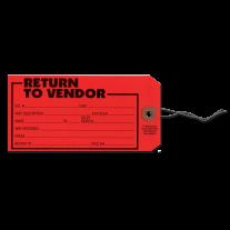 -Return to Vendor Tag