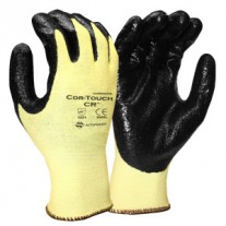 Gloves - Kevlar Black Nitrile Coated