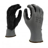 Gloves - Nitrile Dip Coated Palm Gloves