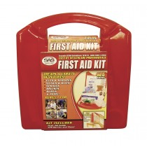 First Aid Kit - 25 Person Metal Case