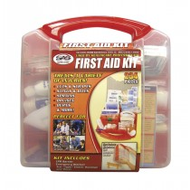 First Aid Kit - 50 Person Plastic Case