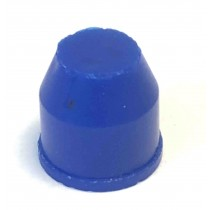 Blue Silicone Tapered Plug