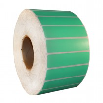 Rack Location Labels - Thermal Transfer - Green