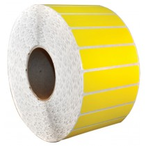 Rack Location Labels - Thermal Transfer - Yellow