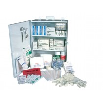 First Aid Kit - 100 Person Metal Case