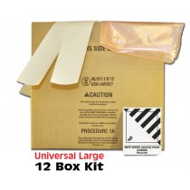 Universal Air Bag Box 24x12x10 -12 BOX KIT
