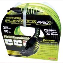"Air Hose Flexzilla® Pro Series, 3/8"" x 50'  1/4"" MNPT Fittings"