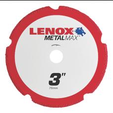 "LENOX METALMAX™ 3"" x .050 3/8"" Arbor, Cut-Off Wheel"