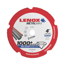 "LENOX METALMAX™ 4"" x .050 3/8"" Arbor 1972919"