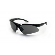 Safety Glasses - DIAMONDBACKS - Black Frame & Smoke Lens