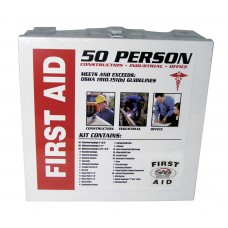 First Aid Kit - 50 Person Metal Case