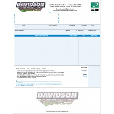 Custom Laser Invoices