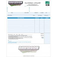 Custom Laser Invoices