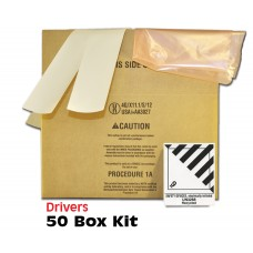 Drivers Side Air Bag Box 16x10x8 Bulk Pack