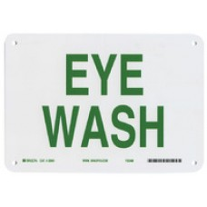 Warning Sign-DANGER EYE WASHPlastic